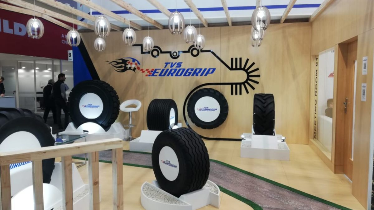 TVS Eurogrip tyres