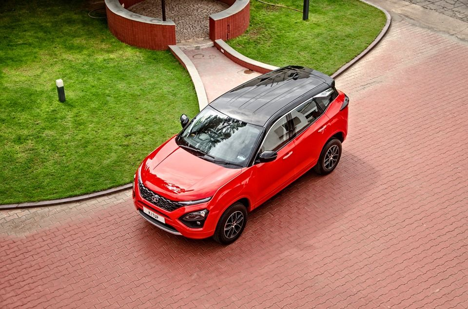 Tata Harrier Red Top