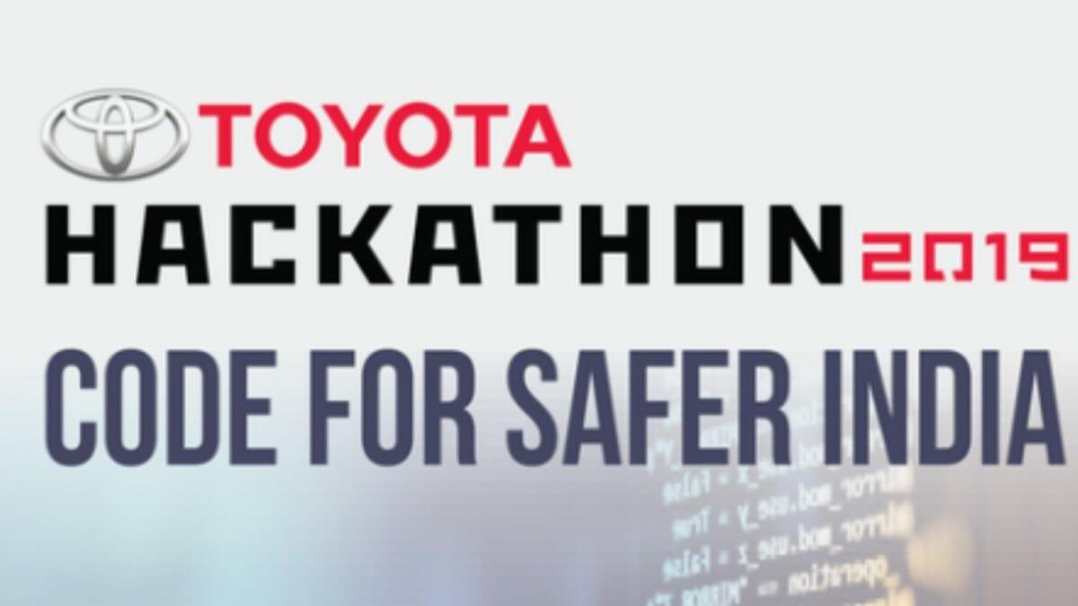 Toyota Hackathon 2019