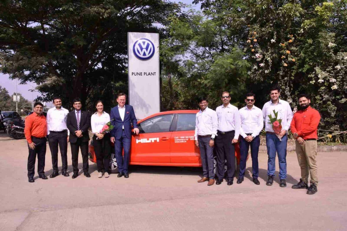 Volkswagen India Polo and Hilti