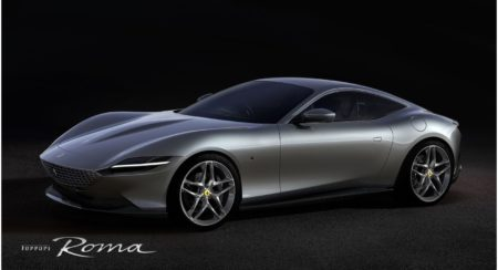 The New Ferrari Roma Is A Front-Engined V8 GT Coupe