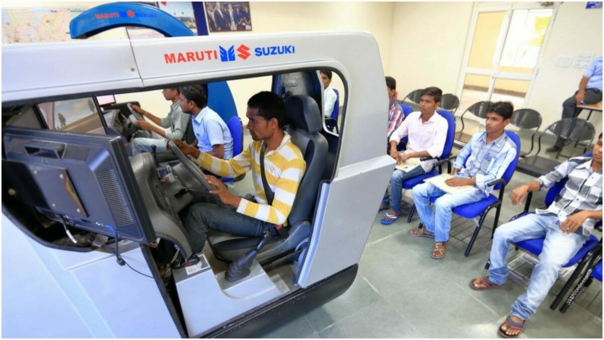maruti suzuki gujarat driving training institite 2