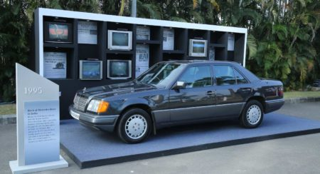 mercedes-benz 25 years in india 1