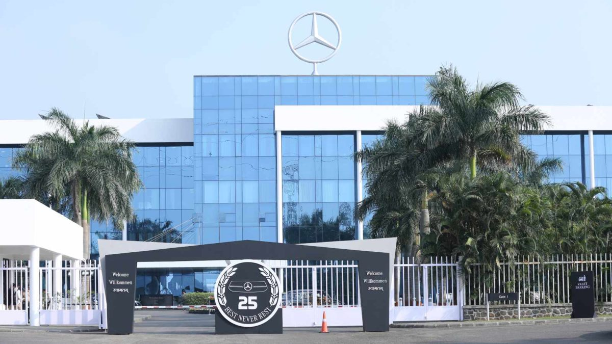 mercedes benz 25 years in india 2
