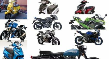 october 2-wheeler sales brands 1