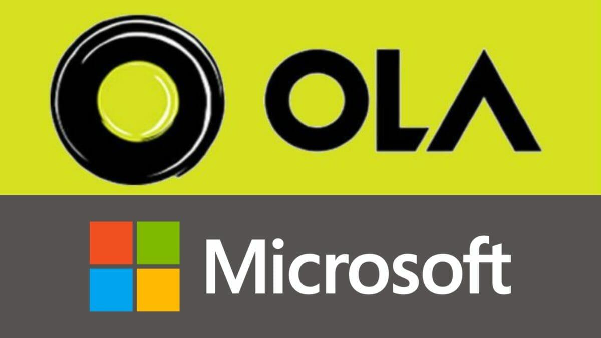 ola and microsoft partnership
