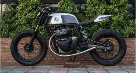 Check Out This Customized Royal Enfield Continental GT 650 Scrambler By Zeus Customs