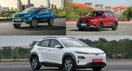 Electric SUV Comparison INdia