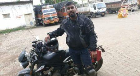 Fastest Golden Quadrilateral Ride By Souvig Sarkar on His Triumph Street Triple RS