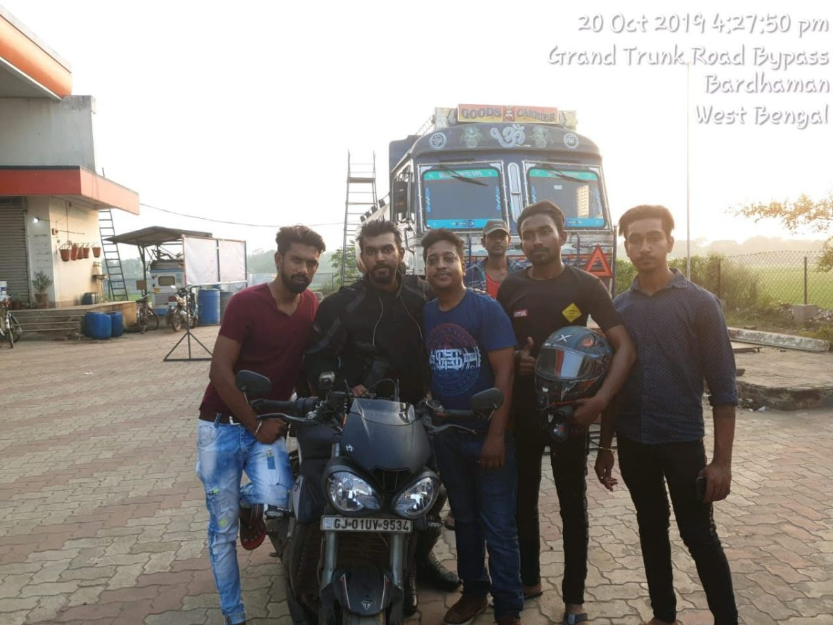 Fastest Golden Quadrilateral Ride By Souvik Sarkar on His Triumph Street Triple RS (15)