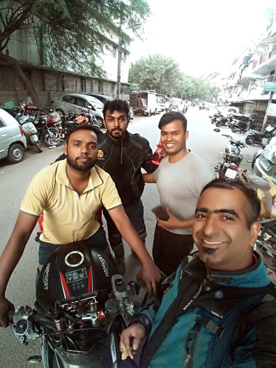 Fastest Golden Quadrilateral Ride By Souvik Sarkar on His Triumph Street Triple RS (17)