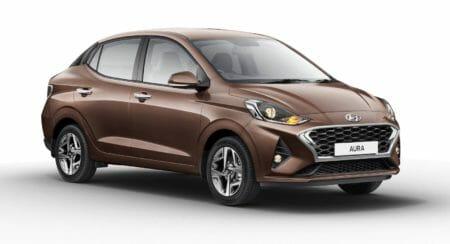 Hyundai AURA Bronze Front