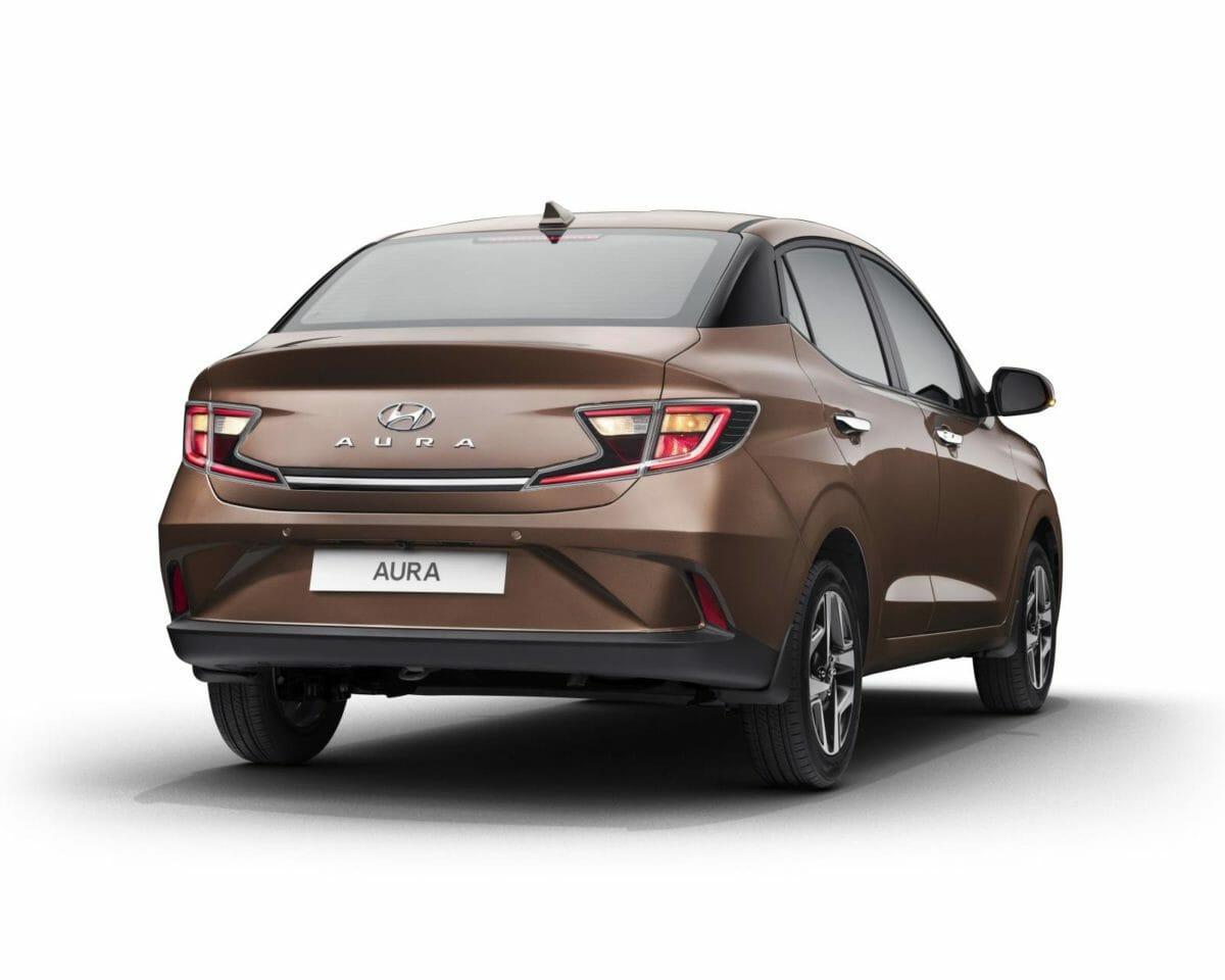 Hyundai AURA Bronze Rear