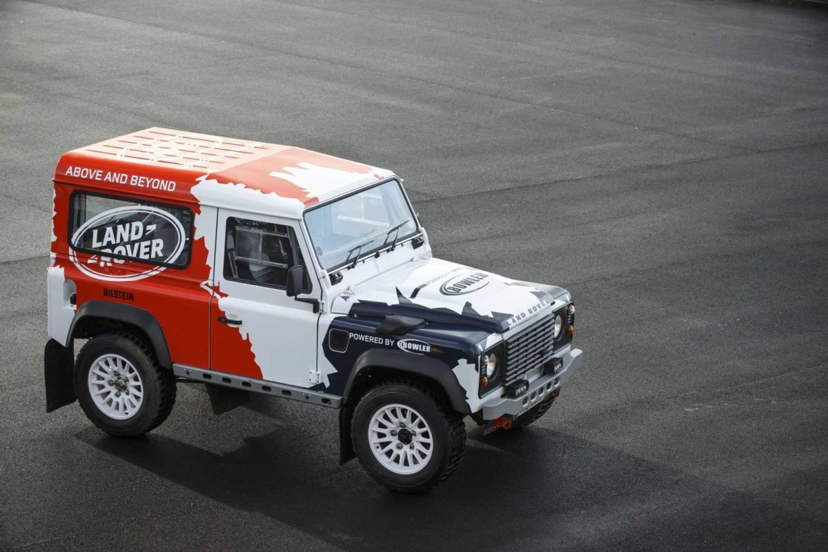JAGUAR LAND ROVER ACQUIRES ALL TERRAIN PERFORMANCE SPECIALIST BOWLER – 2