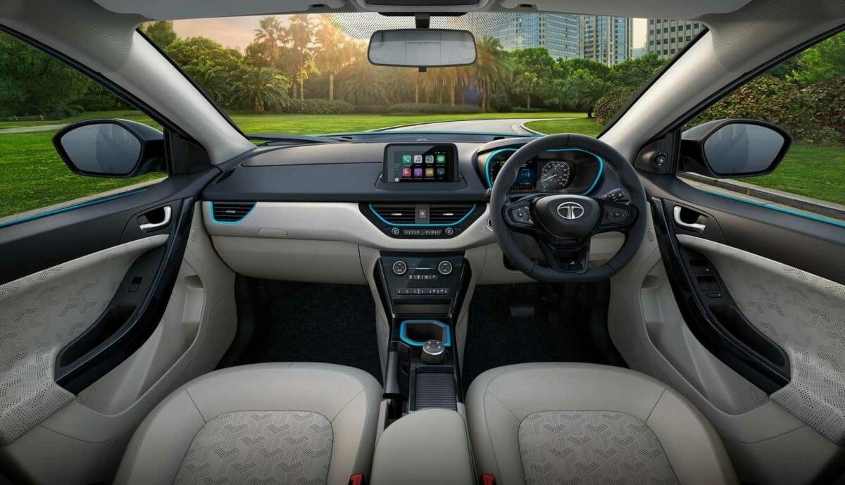 Nexon EV interior