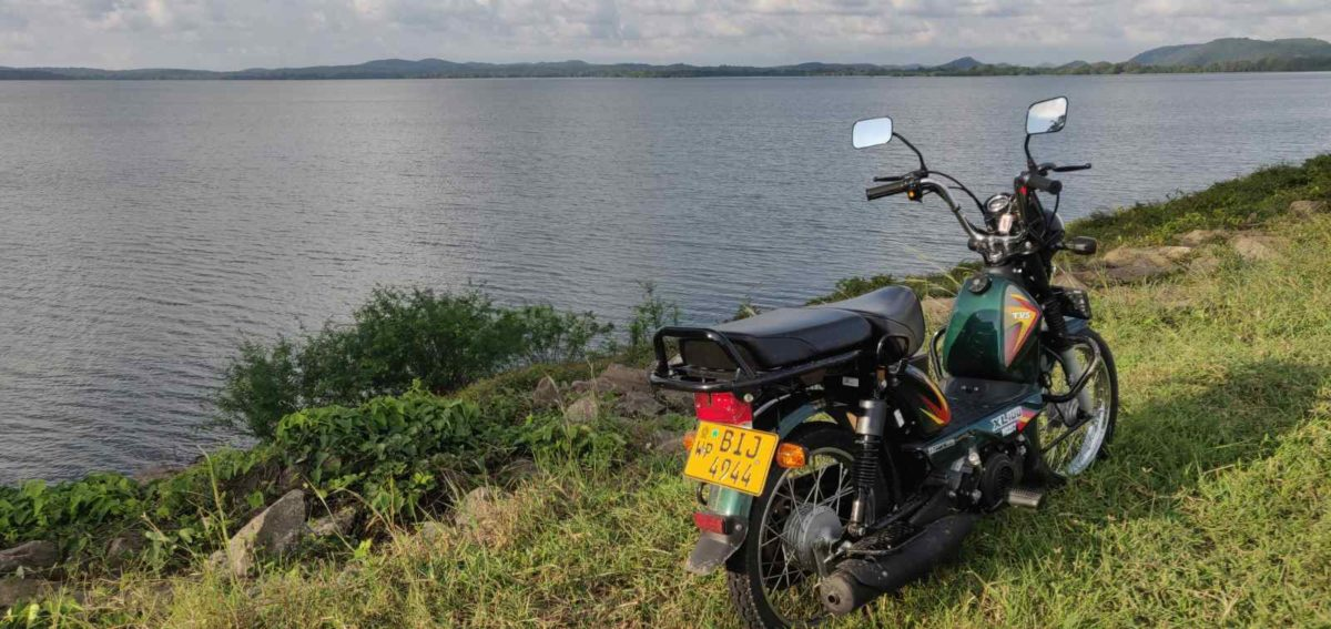 Riding In Sri Lanka on The TVS XL100 (11)