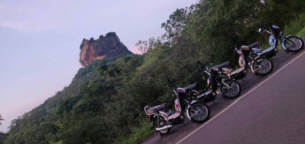 Riding In Sri Lanka on The TVS XL100 (13)