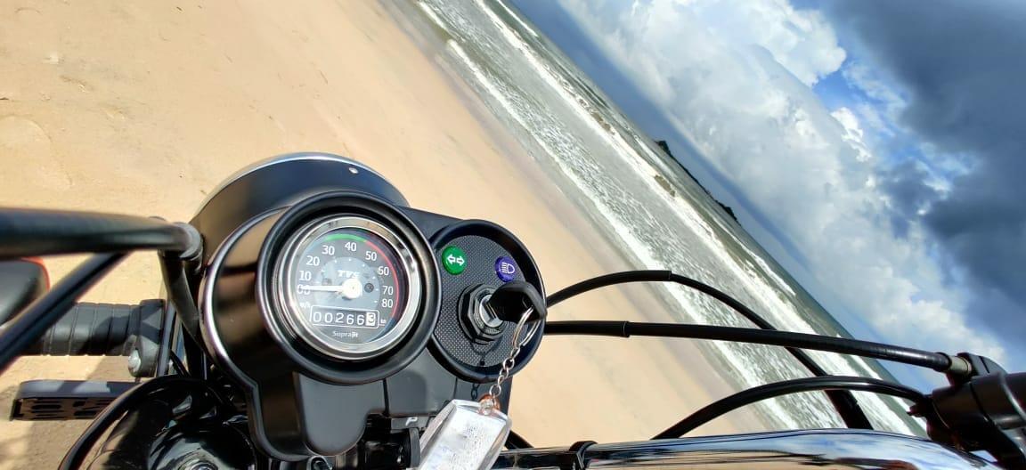 Riding In Sri Lanka on The TVS XL100 (18)