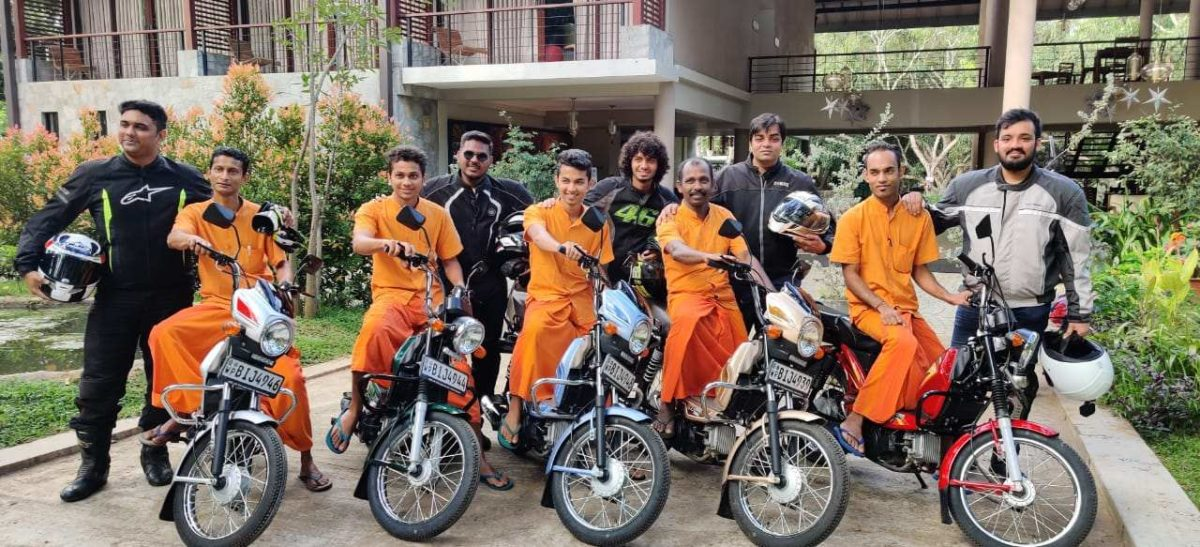 Riding In Sri Lanka on The TVS XL100 (24)