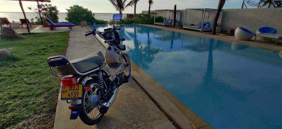 Riding In Sri Lanka on The TVS XL100 (5)