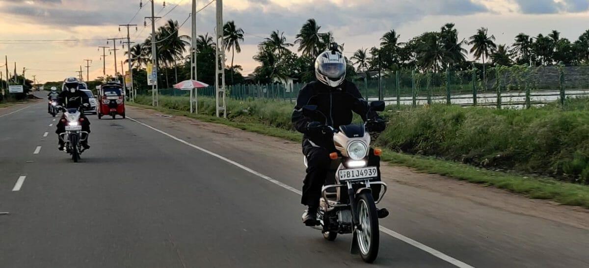 Riding In Sri Lanka on The TVS XL100 (7)