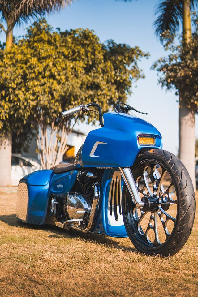 Royal Enfield 650 Bagger By TNT Customs profile