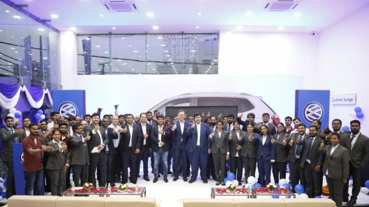 Volkswagen opens new dealership in Hyderabad