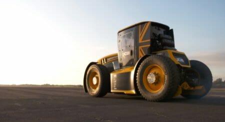 World's fastest tractor world record