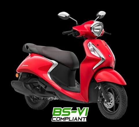Yamaha Fascino 125 3qtr