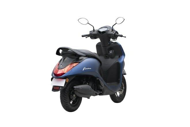 Yamaha Fascino 125 Rear