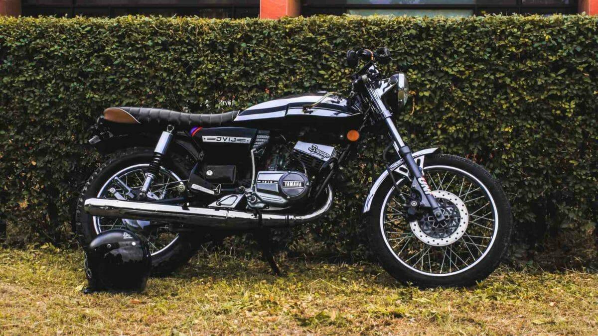 Yamaha RX 100 Cafe Racer (3)