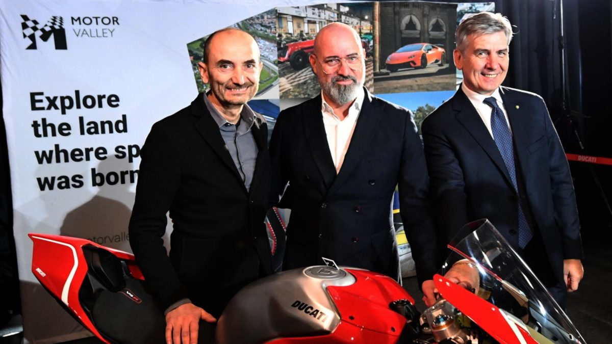 ducati CEO Motor Valley President 3