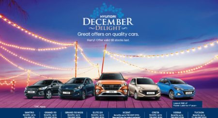Hyundai Offers Discounts And Benefits Of Up To INR 2 Lakh On Its Range Of Cars