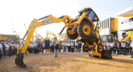 JCB Showcases A Wide Range Of New Machines At Excon 2019 In Bengaluru