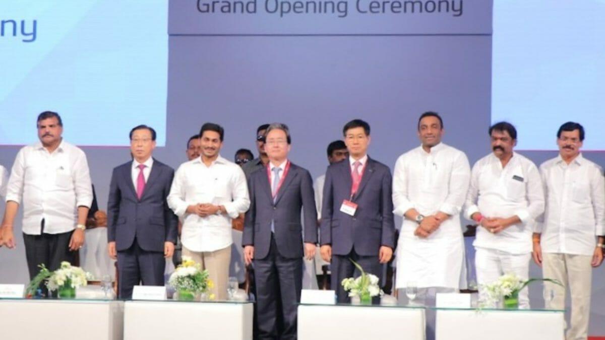 new kia plant in india 2
