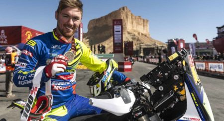 Adrien Metge_Sherco TVS Rally Factory Team_Dakar Rally 2020_1