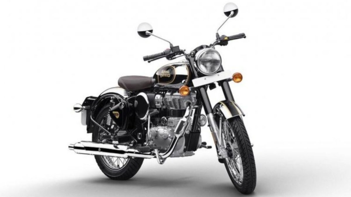 BS6 Royal Enfield Classic 350 Chrome Black