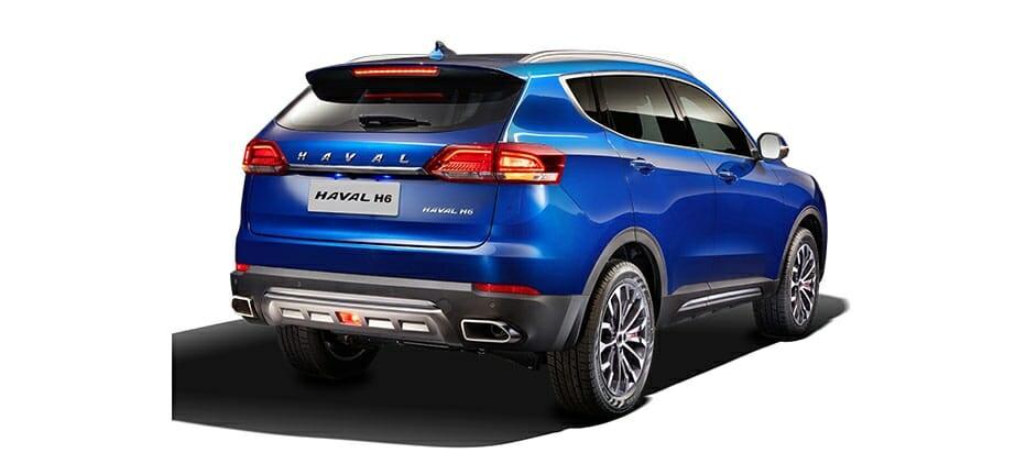 Great Wall Motors Haval H6 rear