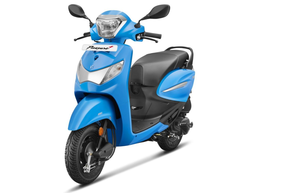 Hero Pleasure+ 110 FI BS VI scooter (2)
