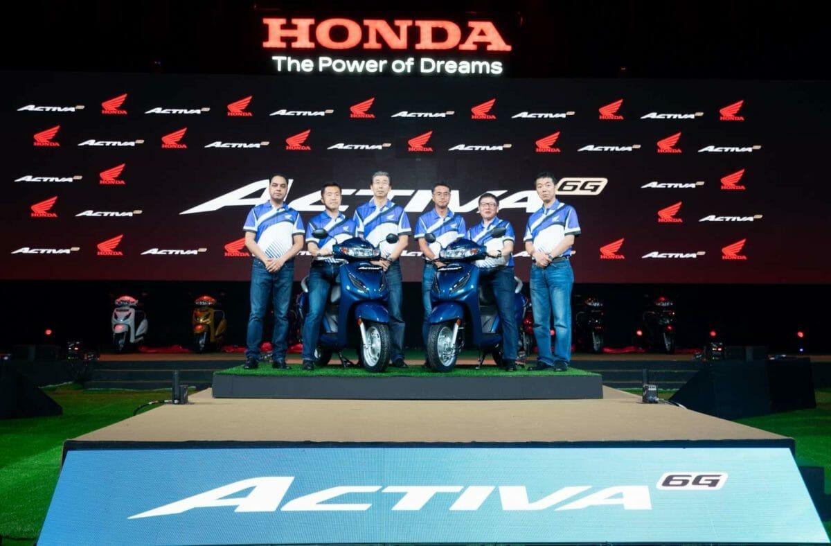 Honda Activa 6G launch