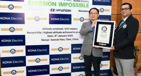 Hyundai Kona Electric Guinness Word Record (2)