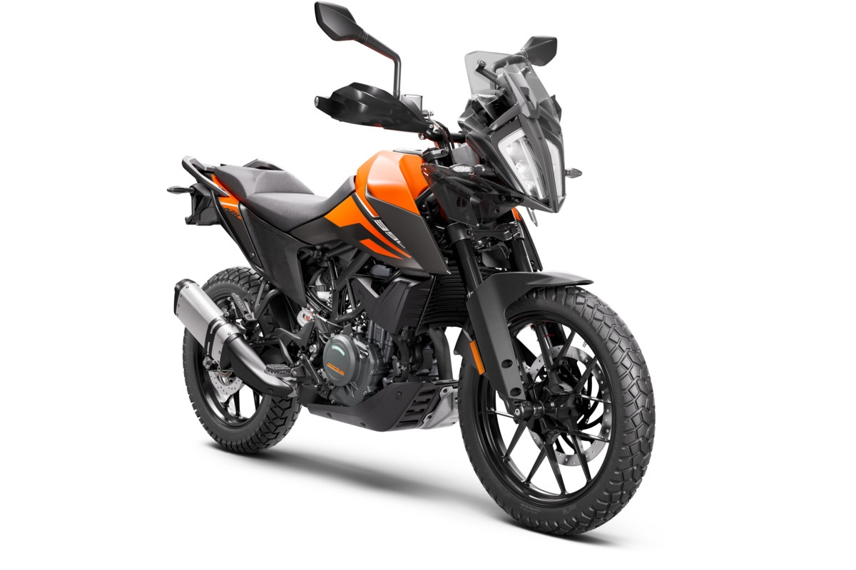 KTM 390 Adventure 2020 RH Profile Orange