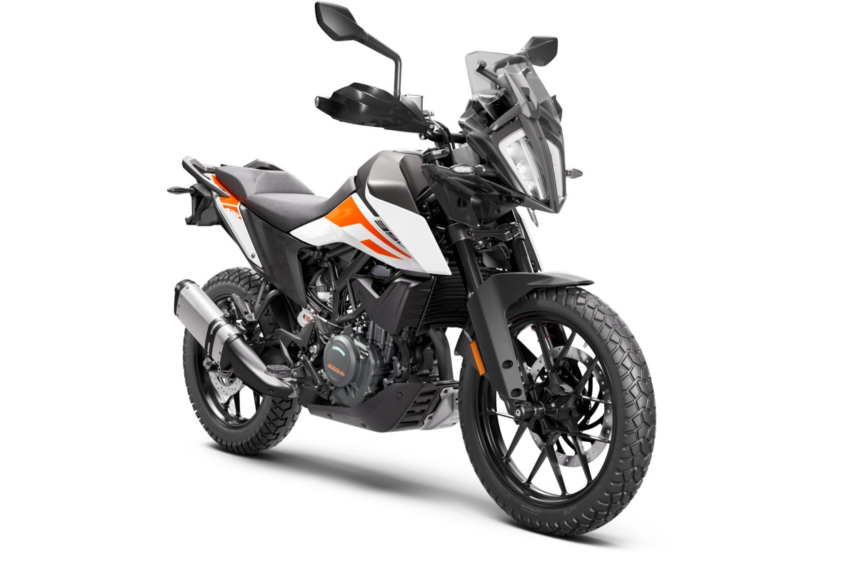 KTM 390 Adventure 2020 RH Profile White