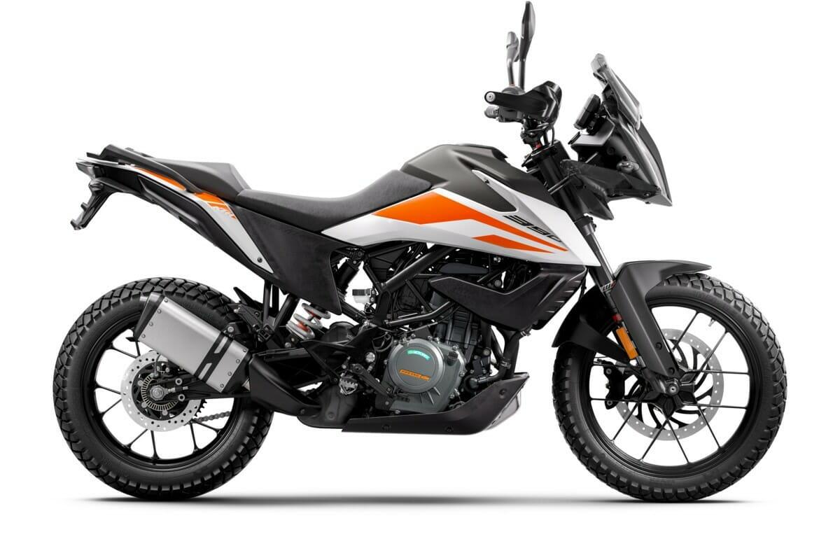 KTM 390 Adventure 2020 RH Side White