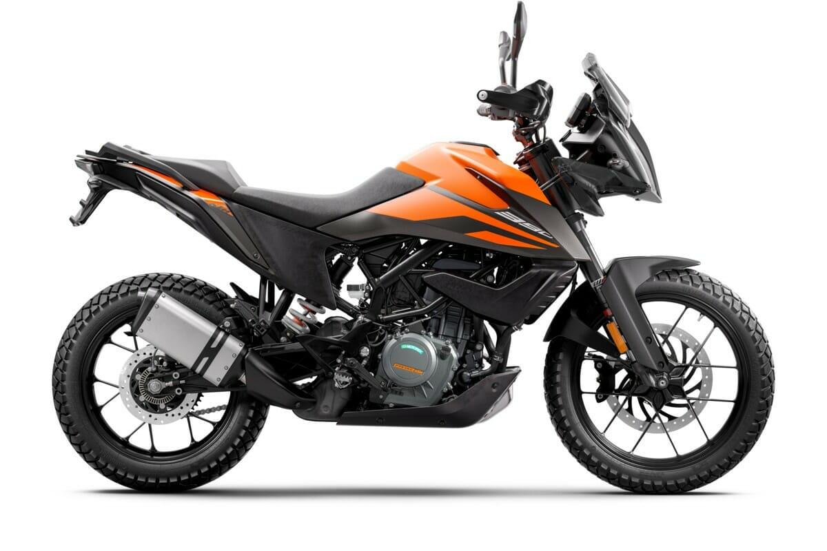 KTM390 Adventure 2020 RH Side Orange