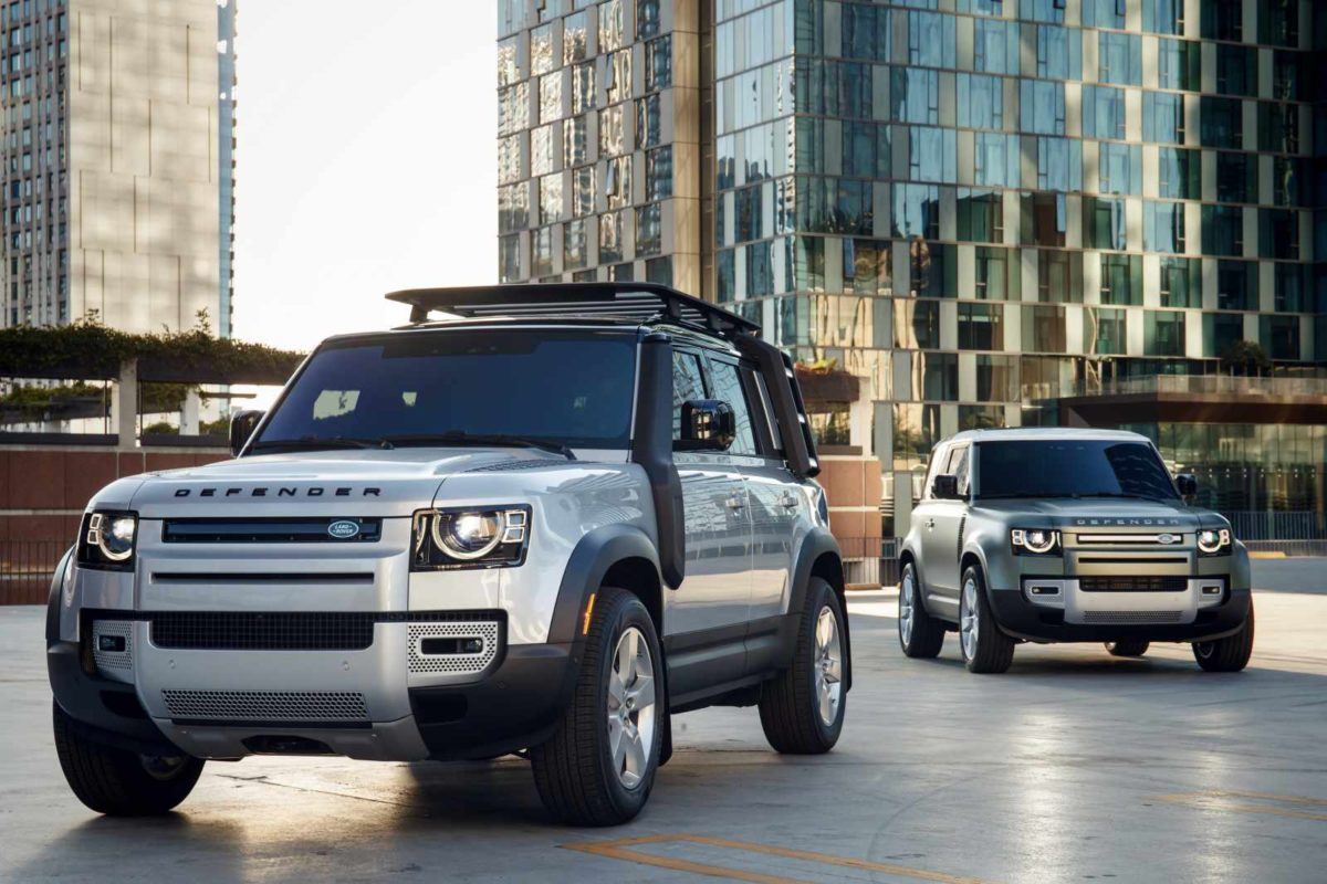 LAND ROVER DEFENDER – CES 2020 – 2