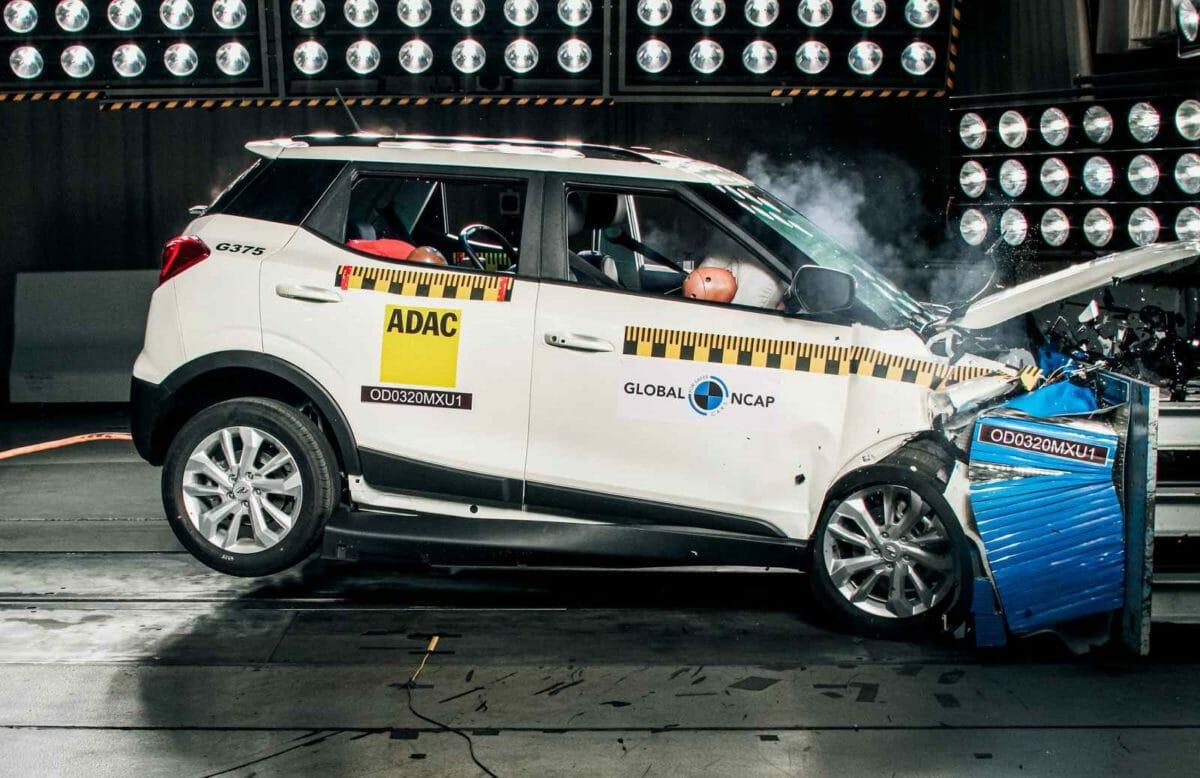 Mahindra XUV 300 Global NCAP Test