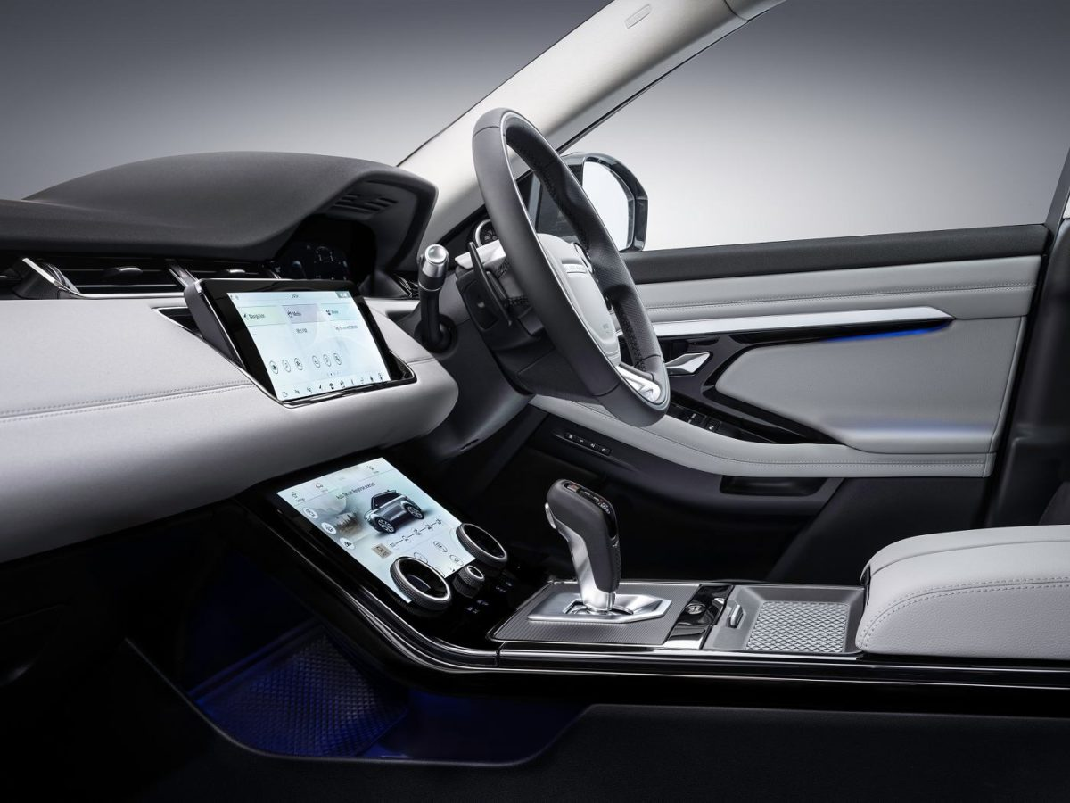 New Range Rover Evoque – Interior