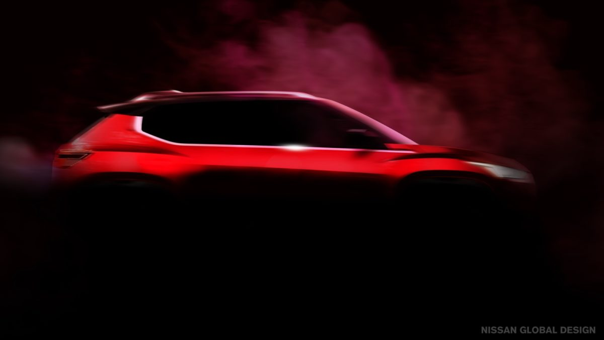 Nissan India Compact SUV Teaser