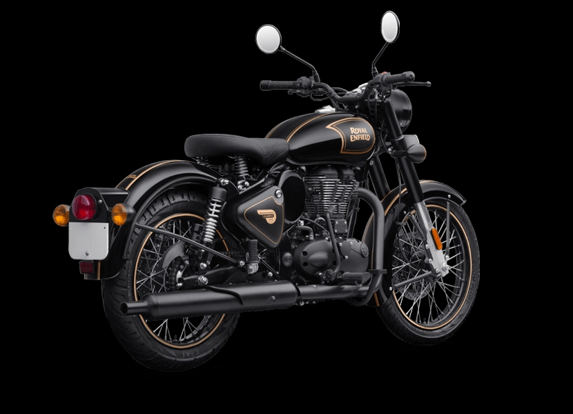 Royal Enfield Classic 500 Tribute Black Limited Edition (2)